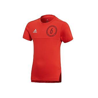 Adidas JR Little CF6698 football all year boy t-shirt