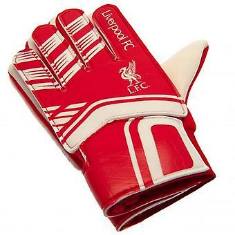 Liverpool FC Childrens/Kids Goalkeeper Gloves