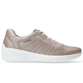 Shoes Woman Mephisto Chris Perf Color Dove Pearl