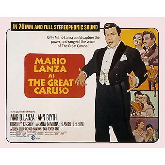 The Great Caruso Mario Lanza Ann Blyth 1951 Movie Poster Masterprint