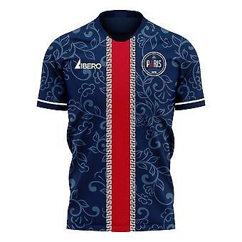 פריז 2020-2021 ערכת כדורגל קונספט ביתי (Libero)