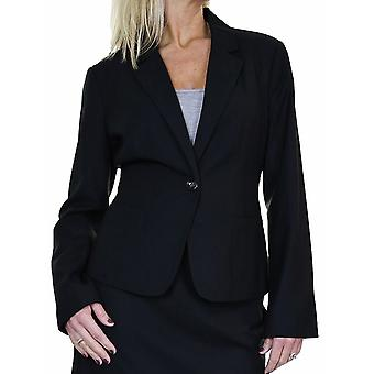 Women's Fully Lined Suit Jacket Blazer Long Sleeve Smart Business Office 10-18
