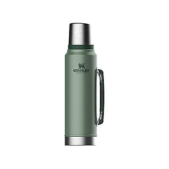 Stanley Classic Vacuum Bottle Hammered Green 1L 10-08266-001