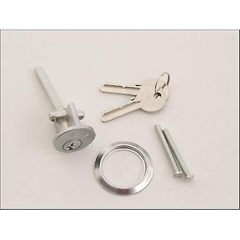 Yale Replacement Cylinder Satin Chrome P-1109-CH