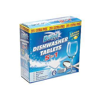 Duzzit 5 In 1 Dishwasher Tablets 15 Pack DZT001