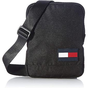 Tommy Hilfiger Core Compact Crossover Unisex Classic Side Bag in Black
