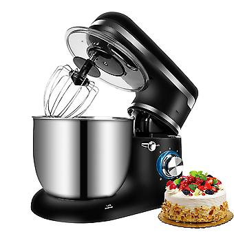 1500W 5L Stand Mixer Stainless Steel Bowl 6-speed Kitchen Food Blender Cream Egg Whisk Cake Dough Kneader Bread Mixer Maker