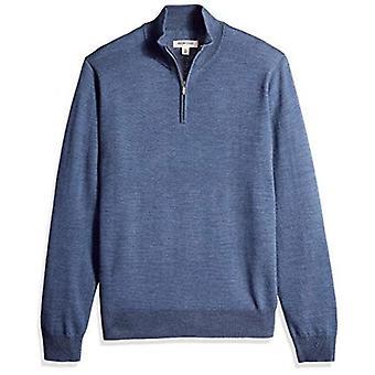 Marke - Goodthreads Men's leichte Merino Wolle Quarter Zip Pullover,...