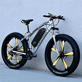 Snow Electric Mountain Bicycle, Lithium Battery Motor Fat High Speed Brushless
