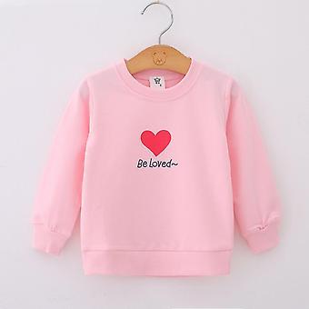 Hoodies, Sweatshirts, Cartoon Herz Trainingsanzug Kleidung für Neugeborene, Kleinkind Baby