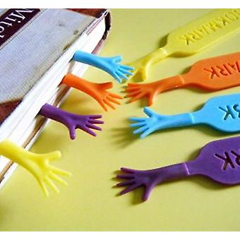 4 Pcs/lot 'help Me' Colorful Bookmarks Set, Creative Stationery