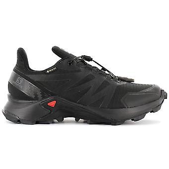 Salomon Supercross GTX W - GORE-TEX - Women's Trail Running Shoes Black 408092 Sneakers Sports Shoes