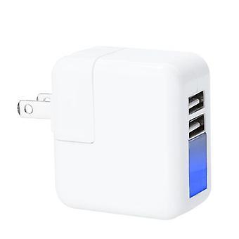 2 منافذ USB محول الطاقة الجدار / شاحن السفر 5V 2.1A