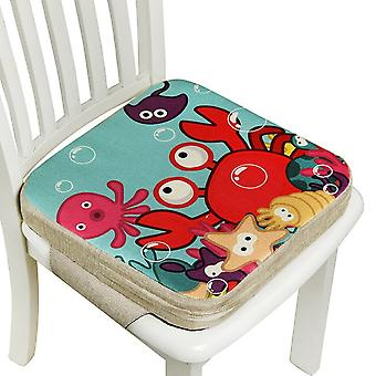 Kinder erhöhte Stuhl Pad abnehmbare Hochstuhl Stuhl Booster Kissen Baby Esskissen verstellbare Sitzstuhl