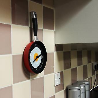 Thumbs Up Frying Pan Wall Clock