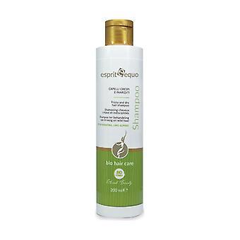 Frizzy and dry hair treatment shampoo 200 ml
