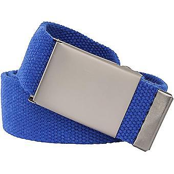 Extra sterke Royal Blue Fabric Riem 4cm breed 140cm