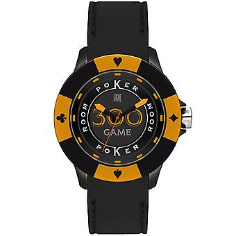 Light time watch poker l147gs silicone strap