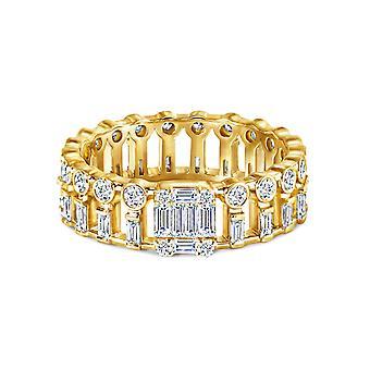 Anel Paloma, 18K Ouro e Diamantes
