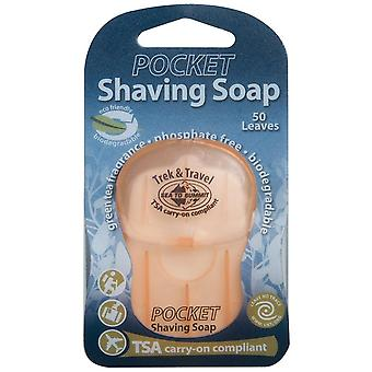 Sea to Summit Pocket Shaving Soap (TSA Approved) (50 Leaves) -