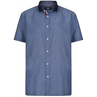 Kangol Alcott Ribbed Collar Short Sleeve Shirt