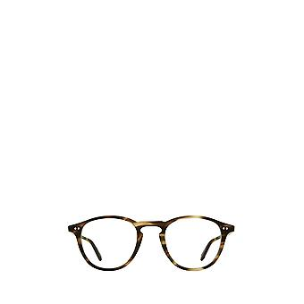 Garrett Leight HAMPTON matte kodiak tortoise unisex eyeglasses