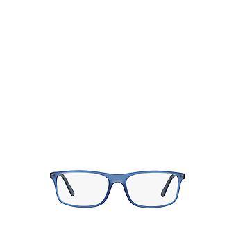 Polo Ralph Lauren PH2197 mat gennemsigtig blå mandlige briller