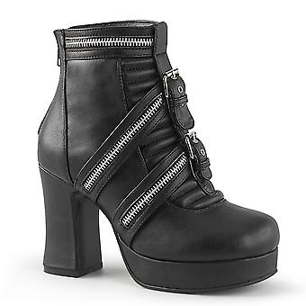 Demonia Women's Boots GOTHIKA-50 Blk Vegan Leather
