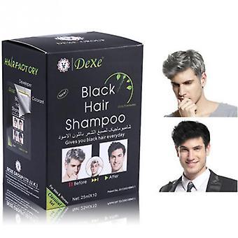 Natural Plant Black Hair Shampoo Darkening And Shinny
