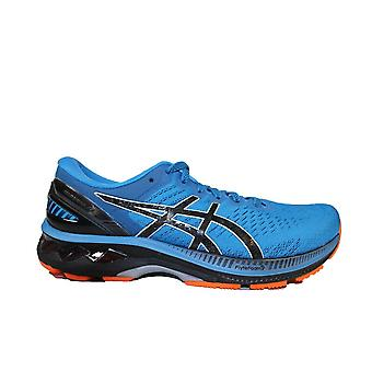 Asics Gel-Kayano 27 Reborn Blue/Black Mesh Mens Lace Up Running Trainers