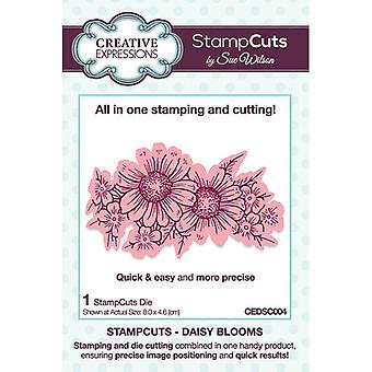 Creative Expressions StampCuts - Daisy Blooms