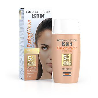 Isdin Photoprotector Fusion Water Color Spf50+ 50 ml