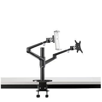Adjustable Desktop Dual Arm 17-32 Inch Monitor Holder