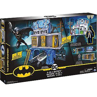BATMAN 3-in-1 Batcave Leikkisetti yksinoikeudella 4 tuuman BATMAN Toimintahahmo