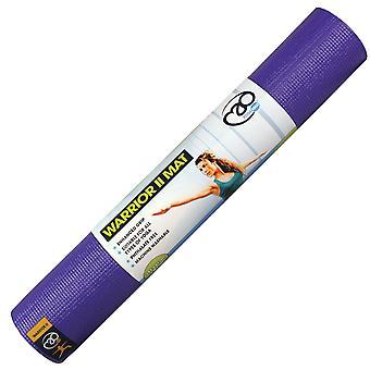 Fitness Mad Warrior II Plus Yoga Mat-6mm-Purple