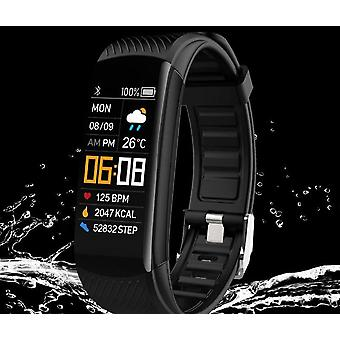 Fitness Tracker Blood Pressure Heart Rate Monitor Smart Band Watch
