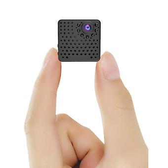 Telecamera di sicurezza Nascosta Spied Ker Mini - Allarme rilevatore di movimento video HD 1080p nero