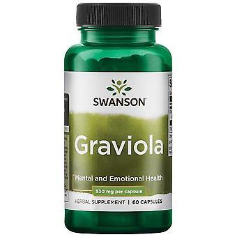 Swanson Graviola 530 mg 60 Capsules