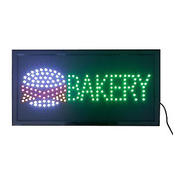 Bakery Neon Lights Led Animated Customers Attractive Sign