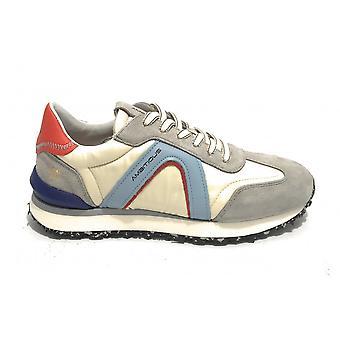 Men's Shoe Ambitious 11538 Sneaker Running Grey/ Beige Us21am24