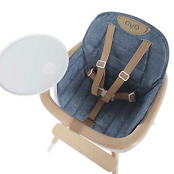 Coussin de siège pour le jean chaise haute ovo - micuna