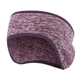 Men Women Hair Bandage Warmer Cationic Fleece Headband Fitness Bicycle Cycling