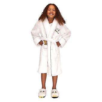 Crianças's Harry Potter Hedwig White Dressing Dress