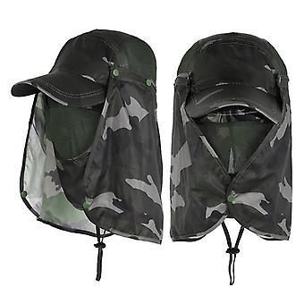 Unisex Visor Hats Fishing Sun Protector Cap