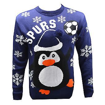 Tottenham FC Official Mens Novelty Christmas Jumper