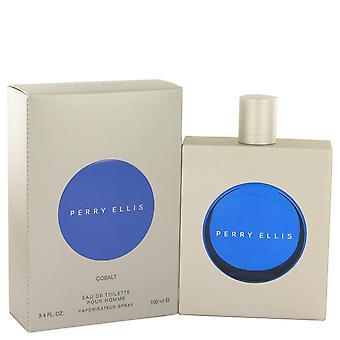 Perry Ellis Cobalt by Perry Ellis Eau De Toilette Spray 3.4 oz
