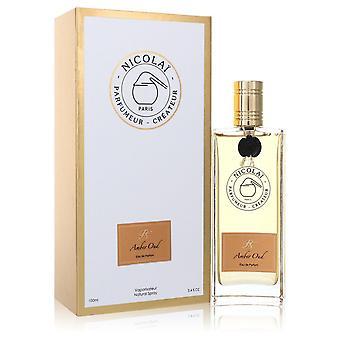 Nicolai Amber Oud by Nicolai Eau De Parfum Spray 3.4 oz