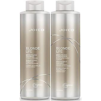 Gerui Blonde Life Illuminating Shampoo Nourishing Conditioner 1000ml Duo Set + FREE PUMPS for