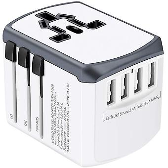 Wokex Reiseadapter Reisestecker Weltweit 224+ Länder Universal Travel Adapter mit USB und AC