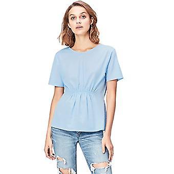 Amazon brand - find. Women's Curling Shirt, Blue, 42, Label: S